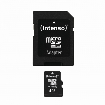 Micro SDHC Card 4GB inkl.Adapter