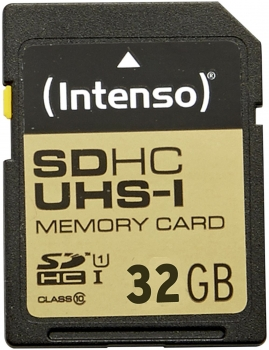 SD-Card 32GB SDHC UHS-I